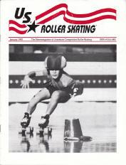 US Roller Skating Magazine - January 1992