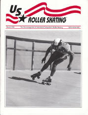 US Roller Skating Magazine - March 1992