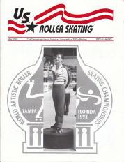 US Roller Skating Magazine - May 1992