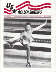 US Roller Skating Magazine - November 1992