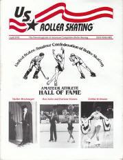 US Roller Skating Magazine - April 1993