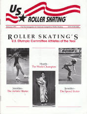 US Roller Skating Magazine - February 1993