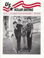 US Roller Skating Magazine - July 1993