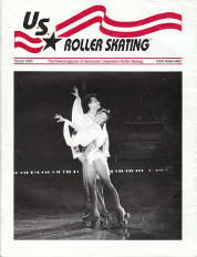 US Roller Skating Magazine - March 1993