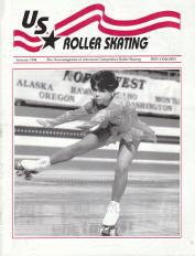 US Roller Skating Magazine - January 1994