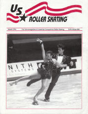 US Roller Skating Magazine - March 1994