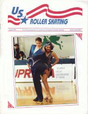 US Roller Skating Magazine - April 1995
