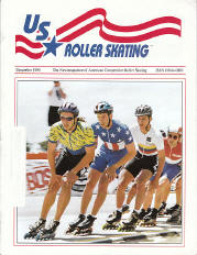 US Roller Skating Magazine - December 1995