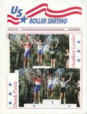 US Roller Skating Magazine - February 1995