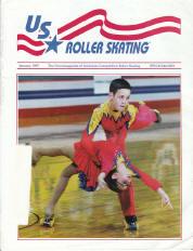 US Roller Skating Magazine - January 1995