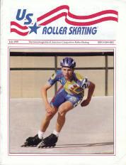US Roller Skating Magazine - July 1995