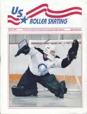 US Roller Skating Magazine - March 1995