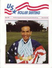 US Roller Skating Magazine - May 1995