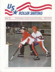 US Roller Skating Magazine - October 1995