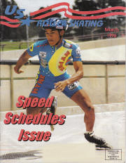 US Roller Skating Magazine - March 1996