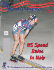 US Roller Skating Magazine - November 1996
