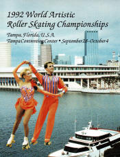 1992 World Championship Roller Skating Program