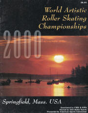 2000 World Artistic Roller Skating Championship Program