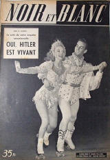 1951 foreign magazine cover featuring Gloria Nord and William North