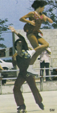 Robbie Coleman & Pat Jones - Pam Am Games - Skate Magazine - Fall, 1979