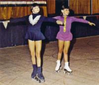 Robbie & Rhonda Coleman - Skate Magazine - Spring, 1974