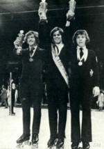 M. Obrecht, Randy Dayney, Billy Boyd - Worlds 1973 - Skate Magazine - Winter, 1973