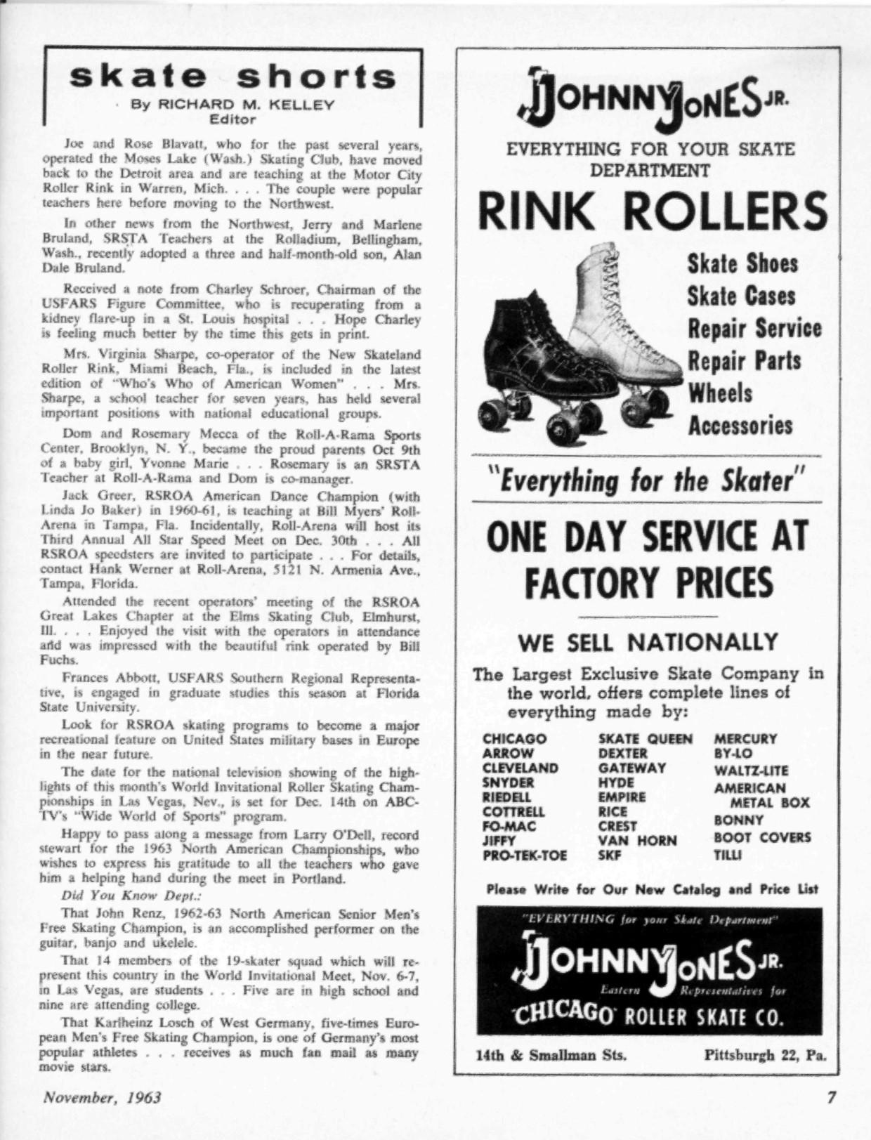 Roller skating rink queen anne - Joe