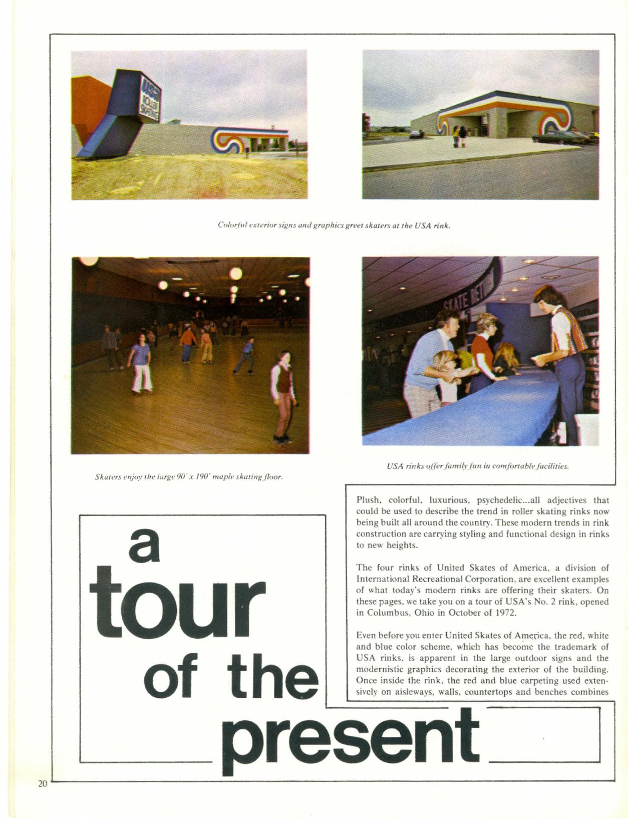 Classic Art Skating Skate Magazine 1974