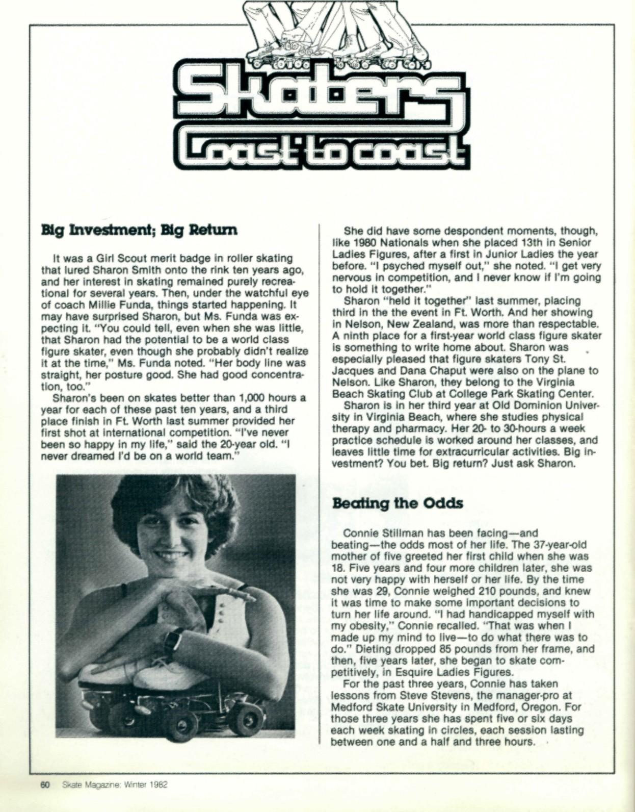 Classic Art Skating: SKATE Magazine